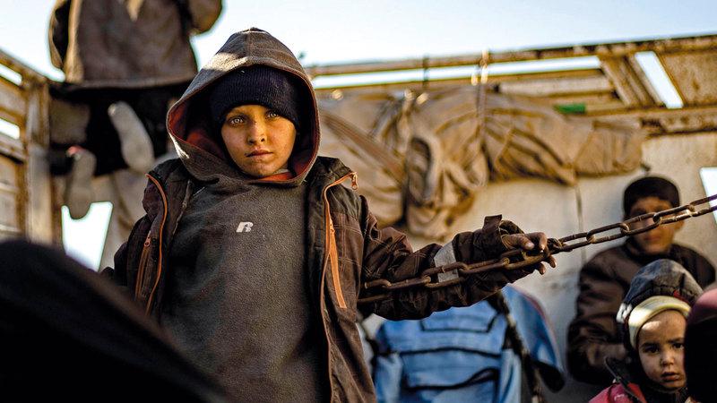 استطلاع فرنسي رفض عودة البالغين الذين انضموا إلى «داعش» حيث رفض 67% من الذين شملهم الاستطلاع ذاته عودة الأطفال. أرشيفية