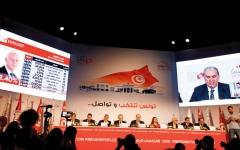 الصورة: قيس سعيد ونبيل القروي إلى الإعادة  في الرئاسة التونسية
