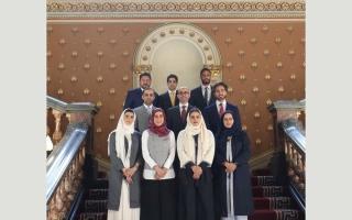 الصورة: أعضاء لجنة دبي للاتصال الخارجي يستعرضون في لندن رؤية دبي للمستقبل