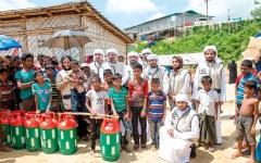 الصورة: الإمارات تغيث 7000 لاجئ من الروهينغا في بنغلاديش