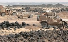 الصورة: «المشتركة» تتصدى لهجمات الحوثي في الساحل الغربي والضالع