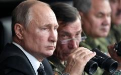 الصورة: بوتين يحضر مناورات «سينتر-2019» العسكرية بمشاركة 8 دول