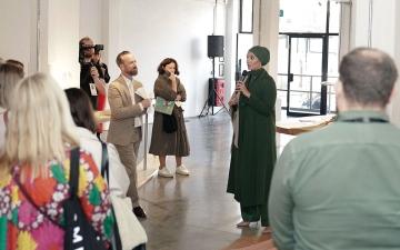 الصورة: «إرثي» يكشف عن 78 قطعة فنية حصرية في «لندن للتصميم»