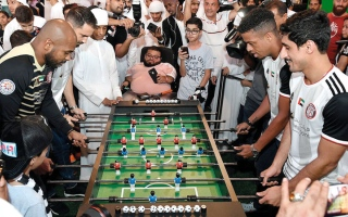 الصورة: الجزيرة يحتفل بالموسم الجديد من «ياس مول» بمشاركة نجومه الجدد