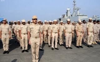 الصورة: بالصور.. مناورات عسكرية في السعودية لتأمين البحر الأحمر