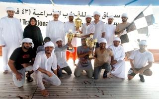 الصورة: قوارب زايد بن حمدان تتصدر «43 قدماً» في دبي