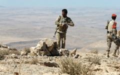 الصورة: مقاتلات التحالف تدمر الاتصالات الـــــــعسكرية لميليشيات الحوثي في عمران وصـــــنعاء