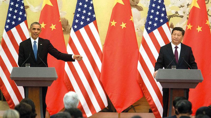 إدارة أوباما لم تقم بالاستجابة المناسبة تجاه بكين ولم تتعامل كما ينبغي مع جهود العسكرة الصينية في بحر الصين الجنوبي. أرشيفية