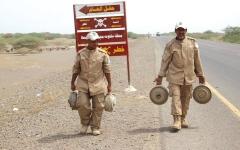 الصورة: ألغام الحوثي تقتل 2700 يمني