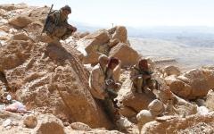 الصورة: التحالف يدمر تعزيزات حـوثية فـــي الضالع.. و«الشــرعـيـة» تختــرق تحصينات الميليشيات