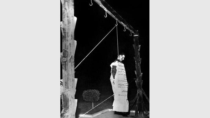إعدام إيلي كوهين في دمشق. أرشيفية