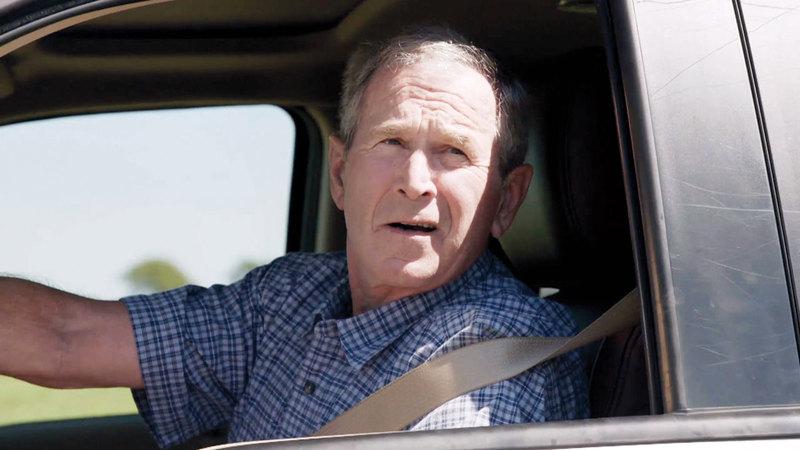 بوش الابن لم يقد سيارته منذ 25 عاماً. أرشيفية