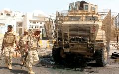 الصورة: «القوات المشتركة» اليمنية تُفشل هجمات واسعة للميليشيات في الضالع