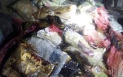 الصورة: الأمن اليمني يضبط ربع طن من المخدرات الإيرانية قبل وصولها إلى الحوثيين