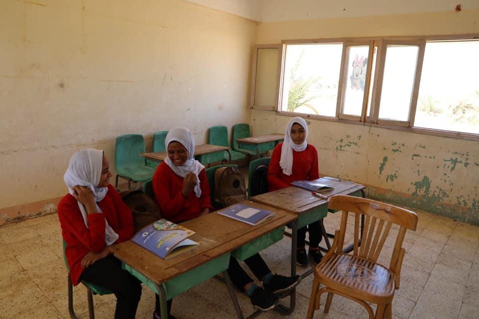 طالبات مدرسة جناح المصرية