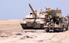 الصورة: الجيش اليمني والتحالف يدمــران تعزيزات حوثية في حجة وصنعاء وصـعدة