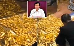 الصورة: العثور على 13.5 طن ذهب و37 مليار دولار لدى مسؤول صيني متهم بالفساد