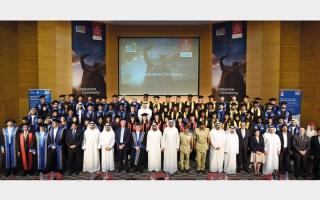 الصورة: الدائرة الأمنية في «الإمارات» تحتفل بتخريج دفعة جديدة