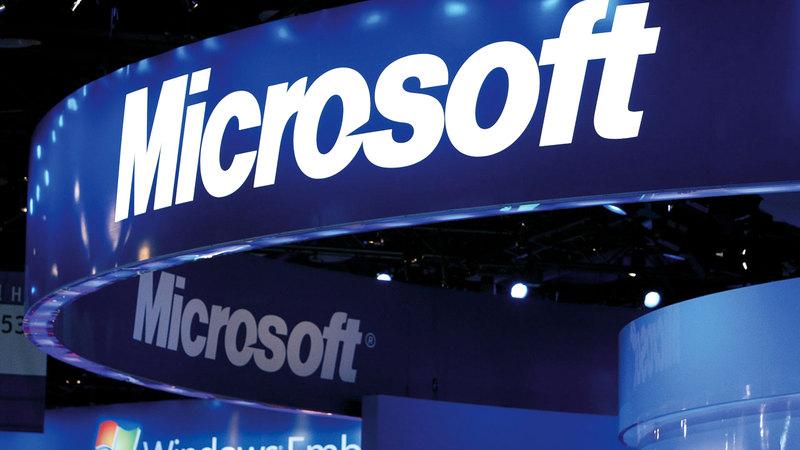 «مايكروسوفت» و«أمازون» شركتان مؤثرتان تتمتعان بخدمات قوية. غيتي