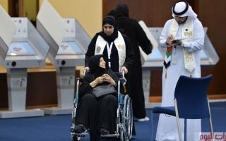 """الصورة: الإمارات تنتخب ممثليها في """"عرس وطني"""""""