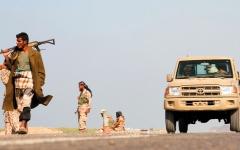 الصورة: مقاتلات «التحالف» تدك مـواقع للحوثيين في صنعاء