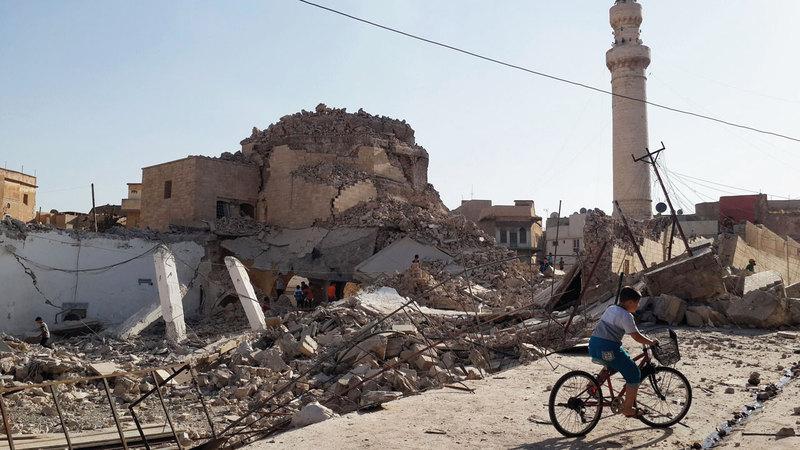 المعارك دمّرت معالم مدينة الموصل العتيقة.  أرشيفية