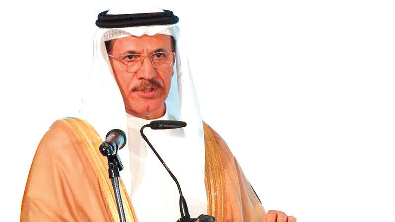 سلطان المنصوري: «لدى دولة الإمارات اقتصاد قوي وثابت، وهناك نمو إيجابي».