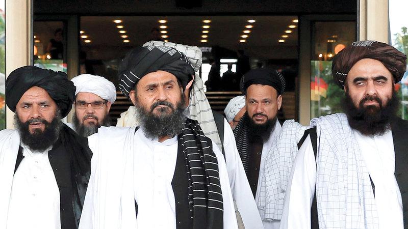 بولتون اعترض على تباحث أميركا مع حركة طالبان.  أرشيفية