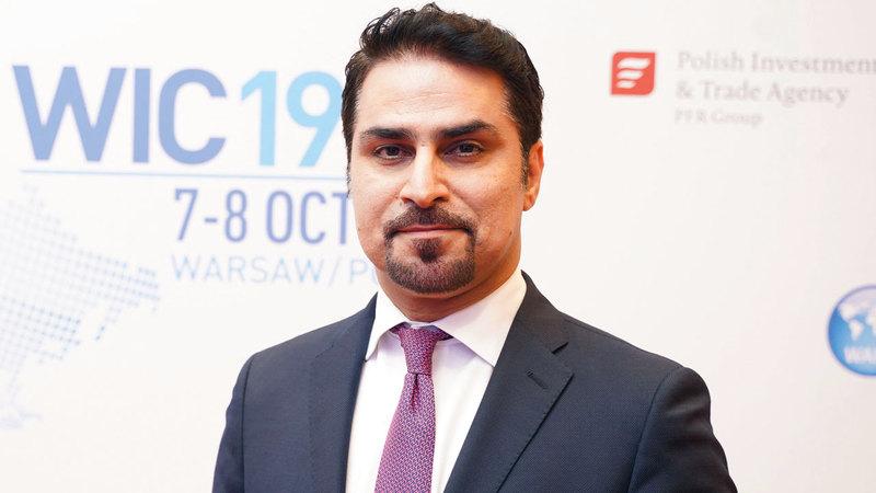 فهد القرقاوي: «تدفقات الاستثمار الأجنبي المباشر في دبي، سجلت نمواً استثنائياً، خلال النصف الأول من 2019».