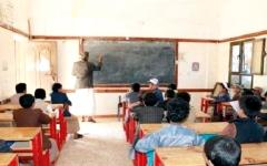 الصورة: أرقام مرعبة لجرائم وانتهاكات الميليشيات الحوثية بحق معلمي اليمن