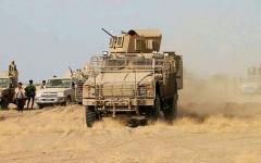 الصورة: القوات المشتركة تحرر 11 موقعـاً استراتيجياً  في الضالع وتحقق انتصاراً نوعياً على الميليشيات