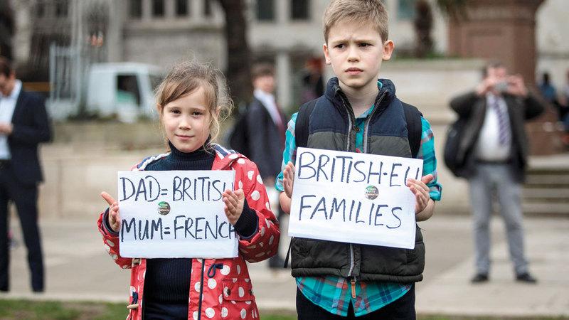 خروج بريطانيا من الاتحاد قد يقسّم العائلات المختلطة. أرشيفية