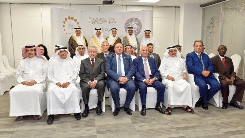 المنتدى يهدف إلى التنسيق بين الجوائز العربية والتواصل في ما بينها لخدمة أهدافها. من المصدر