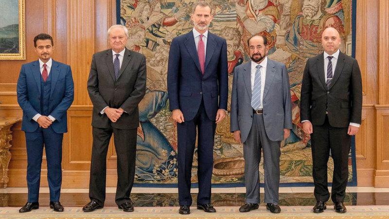 العاهل الإسباني هنأ سلطان القاسمي باختيار الشارقة ضيف شرف معرض ليبر الدولي للكتاب. وام