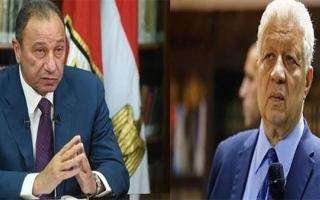 الصورة: مرتضى منصور يتصالح مع محمود الخطيب.. والسبب!