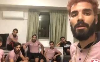 """الصورة: بالفيديو.. لاعبو منتخب تونس يوضحون حقيقة فضيحة """"سرقة الأحذية"""""""