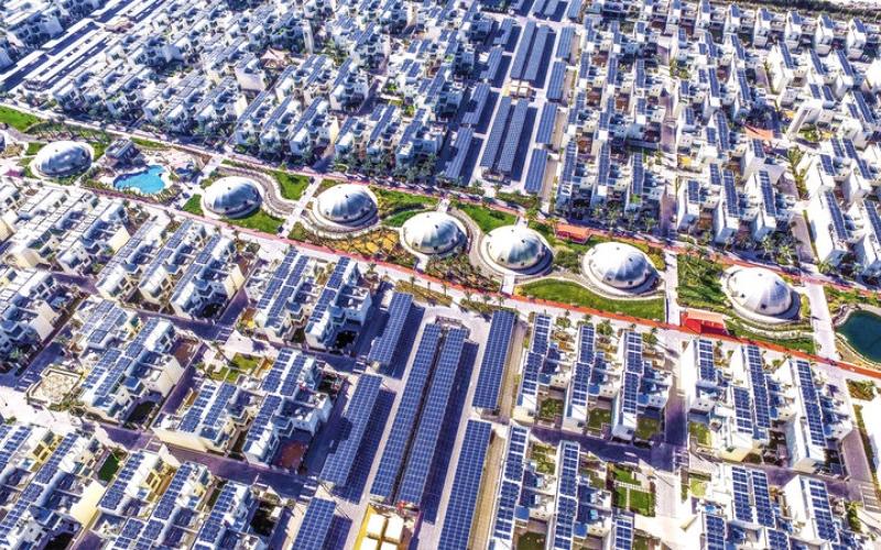 """الصورة: """"المدينة المستدامة"""".. نموذج البيئة الفاضلة في دبي"""