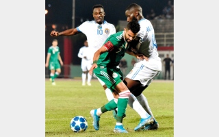 الصورة: الاتحاد الجزائري يستنكر الاعتداء على لاعب المنتخب بوداوي