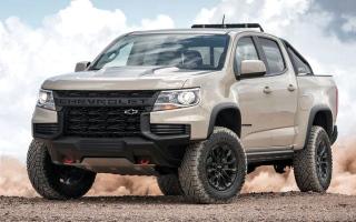 الصورة: «شيفروليه» تكشف تفاصيل طراز 2021 من سيارتها «كولورادو»