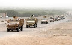 الصورة: القوات اليمنية تستكمل تأمين 35 موقعاً بينها معسكر الجب شمال الضالع