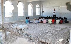 الصورة: ميليشيات الحوثي ترتكب 28 ألف انتهاك بحق التعليم في أمانة صنعاء