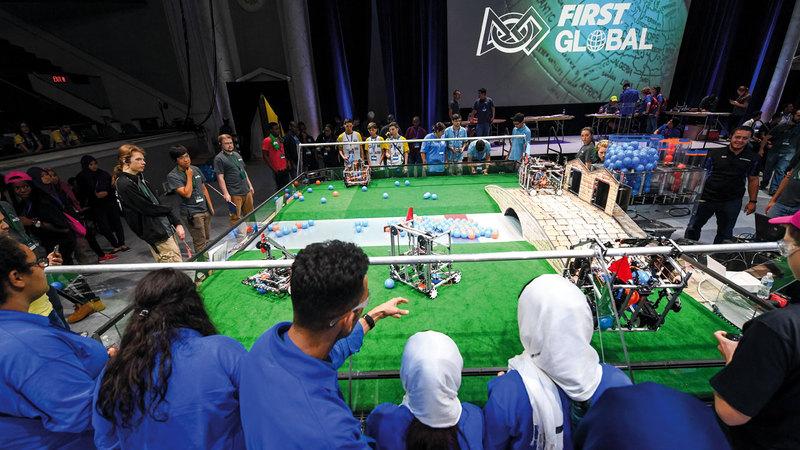 بطول العالم للروبوتات