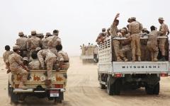 الصورة: استعدادات للجيش اليمني لاستكمال تحرير كتاف صعدة