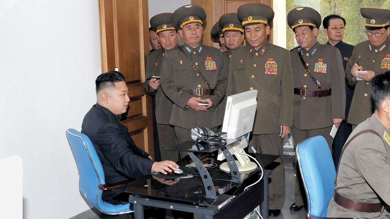 عائلة كيم جونغ أون بدأت في تعزيز قدراتها على الهجوم الإلكتروني في أواخر العقد الماضي.  أرشيفية