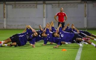 الصورة: منتخب الشباب يدشن معسكره الداخلي في دبي
