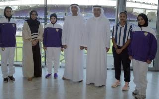 الصورة: نادي العين ينشئ فريق كرة قدم للسيدات