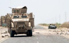 الصورة: قوات الجيش اليمني و«المشتـركة» تفشل مخططات الحوثي في 3 محافــظات