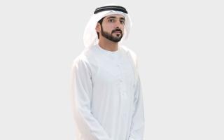 الصورة: حمدان بن محمد: «خط دبي للحرير» انطلاقة جديدة في مضمار التنمية الاقتصادية