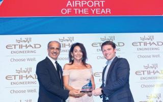 الصورة: مطارات دبي تفوز بجائزتين في مجال الابتكار التكنولوجي ومراقبة العمليات