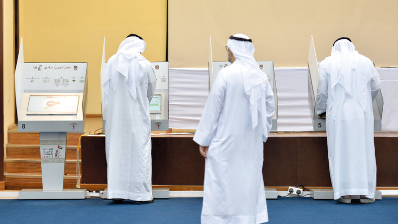 «الوزارة» تحرص على إجراء تقييم للعملية الانتخابية بشكل مرحلي. تصوير: يوسف الهرمودي
